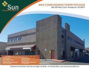 405-429 Max Court, Henderson, NV, 89011