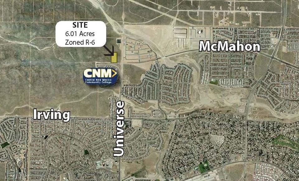 McMahon Blvd & Universe Blvd, Albuquerque, NM, 87114
