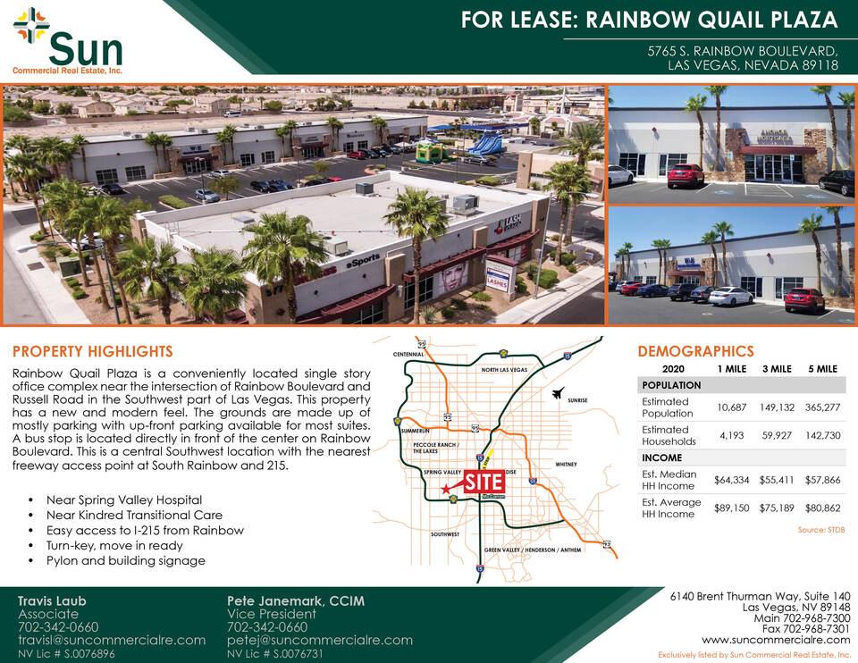 5765 S. Rainbow Boulevard, Las Vegas, NV, 89118