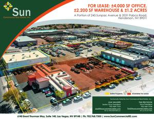 240 Sunpac Avenue & 2031 Pabco Road, Henderson, NV, 89011