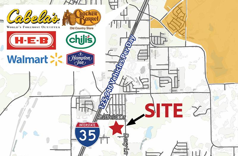 Suffield Drive and Dacy Lane, Buda, TX, 78610