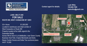 Route 9W, West Coxsackie, NY, 12051