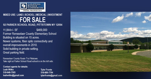 92 PARKER SCHOOL RD, Pittstown, NY, 12094
